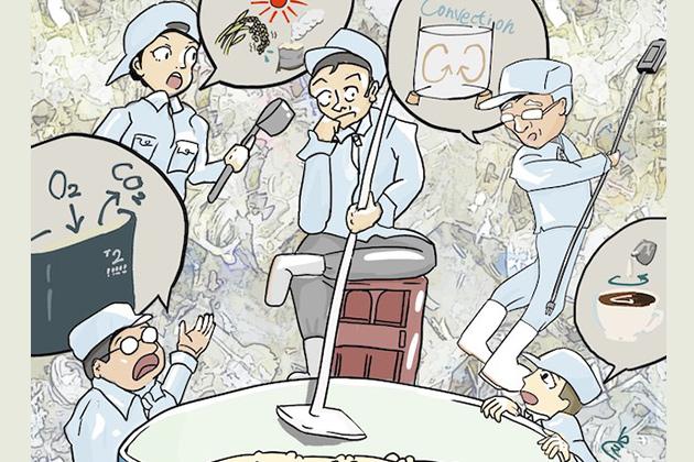 「櫂入れをしない」日本酒造りが注目!その効果や違いとは? - 醪期間中の櫂入れを学ぶ