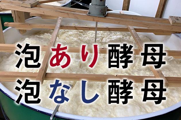 日本酒造りに使われる「泡なし酵母」って何?泡あり酵母との違いは? - 泡なし酵母を学ぶ