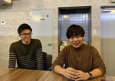 豊田さんと大庭さん